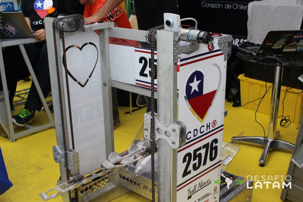 Robotics Day - Corazon de chilenos