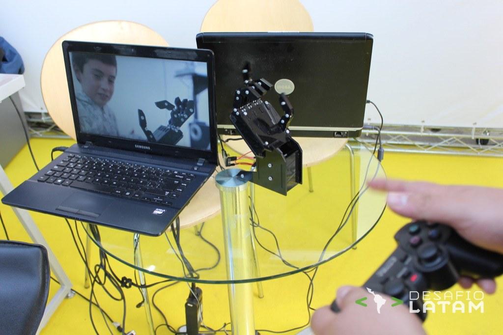Robotics Day - Mano robotica