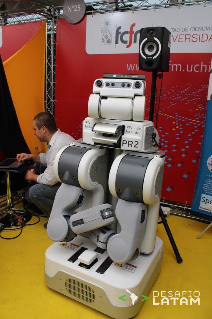 Robotics Day - Robot Bailarin