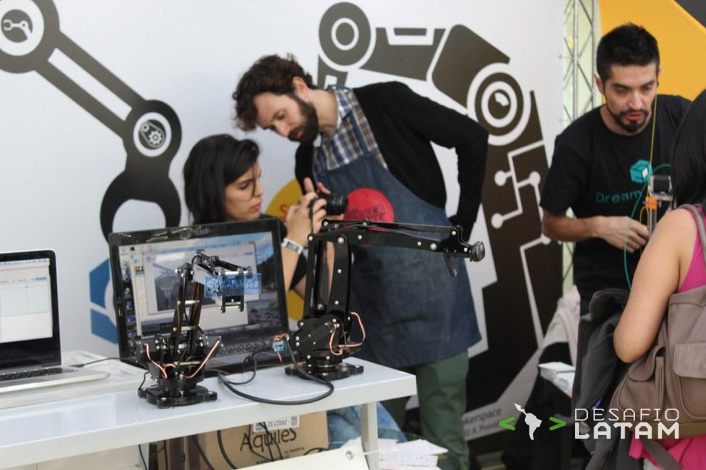 Robotics Day - Stgo Maker Space