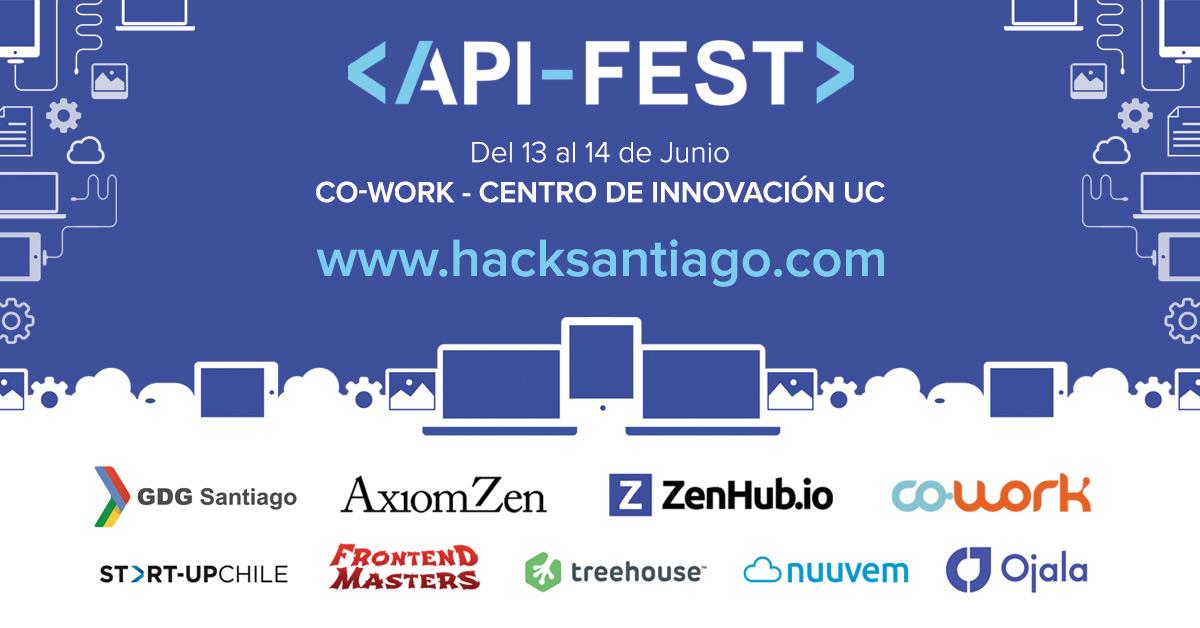 API Fest - Flyer redes sociales