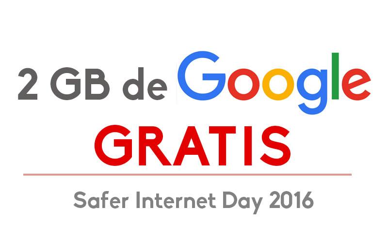 Google 2gb gratis
