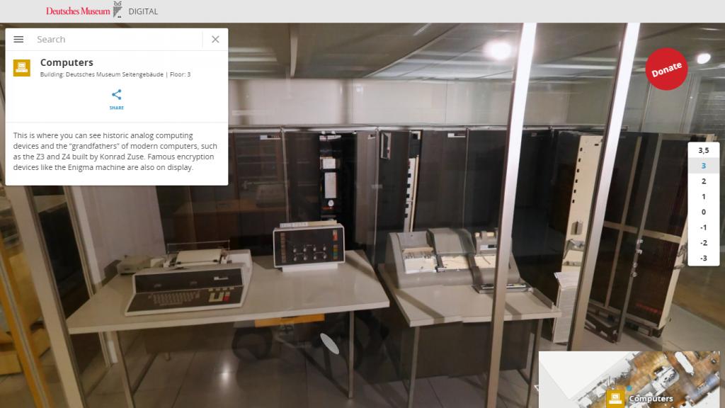 Tour virtual Deutshes Museum