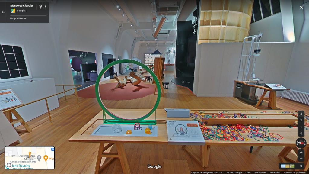 Tour virtual Museo de Ciencia de Londres