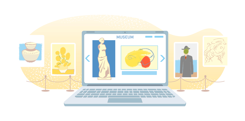 Tours virtuales para visitar museos desde casa.