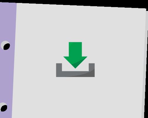 Símbolo de descarga